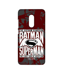 Batman Dawn of Justice Batman Superman Gotham vs. Krypton Red Sublime Case for Xiaomi Redmi Note 4
