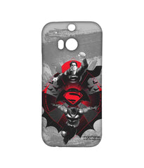 Batman Dawn of Justice Batman Superman Rise for Glory Sublime Case for HTC One M8