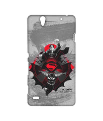 Batman Dawn of Justice Batman Superman Rise for Glory Sublime Case for Sony Xperia C4