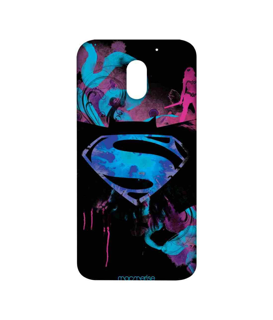 Batman Dawn of Justice Batman Superman Wonder Woman The Epic Trio Sublime Case for Moto E3