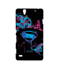 Batman Dawn of Justice Batman Superman Wonder Woman The Epic Trio Sublime Case for Sony Xperia C4