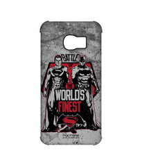 Batman Dawn of Justice Batman Superman Worlds Finest Pro Case for Samsung S6 Edge