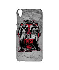Batman Dawn of Justice Batman Superman Worlds Finest Sublime Case for HTC Desire 820