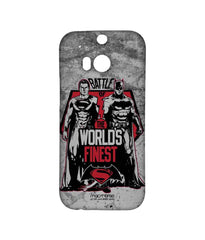 Batman Dawn of Justice Batman Superman Worlds Finest Sublime Case for HTC One M8