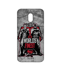 Batman Dawn of Justice Batman Superman Worlds Finest Sublime Case for Moto E3 Power