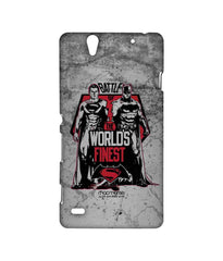 Batman Dawn of Justice Batman Superman Worlds Finest Sublime Case for Sony Xperia C4