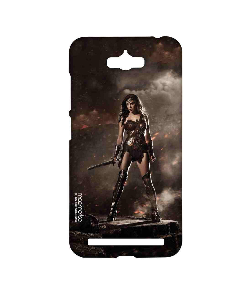 Batman Dawn of Justice Lethal Wonder Woman Sublime Case for Asus Zenfone Max