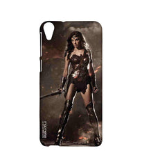 Batman Dawn of Justice Lethal Wonder Woman Sublime Case for HTC Desire 820