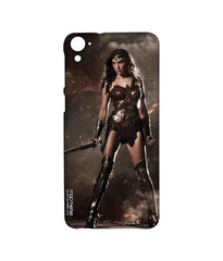 Batman Dawn of Justice Lethal Wonder Woman Sublime Case for HTC Desire 826
