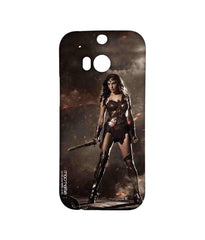 Batman Dawn of Justice Lethal Wonder Woman Sublime Case for HTC One M8