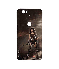 Batman Dawn of Justice Lethal Wonder Woman Sublime Case for Huawei Nexus 6P