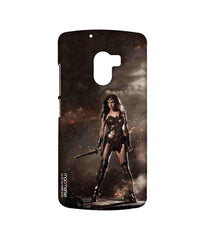 Batman Dawn of Justice Lethal Wonder Woman Sublime Case for Lenovo K4 Note