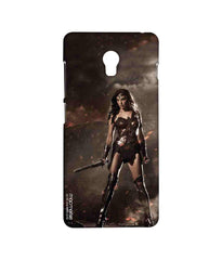 Batman Dawn of Justice Lethal Wonder Woman Sublime Case for Lenovo Vibe P1