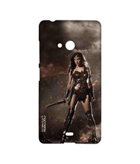 Batman Dawn of Justice Lethal Wonder Woman Sublime Case for Microsoft Lumia 540