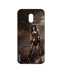 Batman Dawn of Justice Lethal Wonder Woman Sublime Case for Moto E3 Power