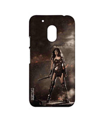 Batman Dawn of Justice Lethal Wonder Woman Sublime Case for Moto G4 Play