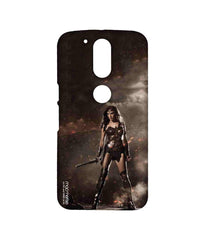 Batman Dawn of Justice Lethal Wonder Woman Sublime Case for Moto G4 Plus