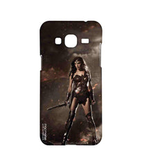 Batman Dawn of Justice Lethal Wonder Woman Sublime Case for Samsung J3 (2016)