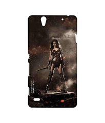 Batman Dawn of Justice Lethal Wonder Woman Sublime Case for Sony Xperia C4