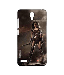 Batman Dawn of Justice Lethal Wonder Woman Sublime Case for Xiaomi Redmi Note 4G