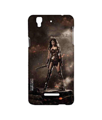 Batman Dawn of Justice Lethal Wonder Woman Sublime Case for YU Yureka Plus