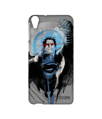 Batman Dawn of Justice Sketched Superman Sublime Case for HTC Desire 820