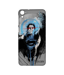 Batman Dawn of Justice Sketched Superman Sublime Case for HTC Desire 826