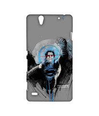 Batman Dawn of Justice Sketched Superman Sublime Case for Sony Xperia C4