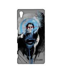 Batman Dawn of Justice Sketched Superman Sublime Case for Sony Xperia Z5