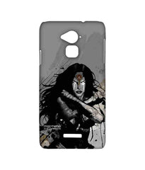 Batman Dawn of Justice Sketched Wonder Woman Sublime Case for Coolpad Note 3