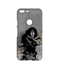 Batman Dawn of Justice Sketched Wonder Woman Sublime Case for Google Pixel