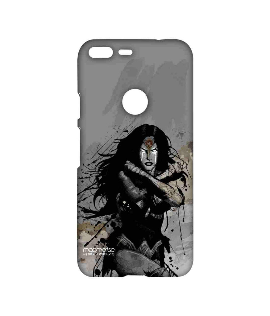 Batman Dawn of Justice Sketched Wonder Woman Sublime Case for Google Pixel XL