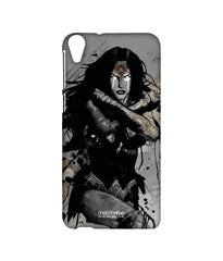Batman Dawn of Justice Sketched Wonder Woman Sublime Case for HTC Desire 820