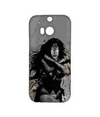 Batman Dawn of Justice Sketched Wonder Woman Sublime Case for HTC One M8