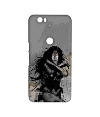 Batman Dawn of Justice Sketched Wonder Woman Sublime Case for Huawei Nexus 6P