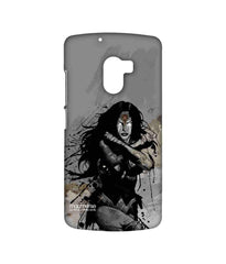 Batman Dawn of Justice Sketched Wonder Woman Sublime Case for Lenovo K4 Note