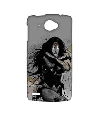 Batman Dawn of Justice Sketched Wonder Woman Sublime Case for Lenovo S920