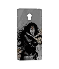 Batman Dawn of Justice Sketched Wonder Woman Sublime Case for Lenovo Vibe P1