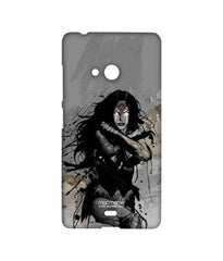 Batman Dawn of Justice Sketched Wonder Woman Sublime Case for Microsoft Lumia 540