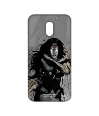 Batman Dawn of Justice Sketched Wonder Woman Sublime Case for Moto E3 Power