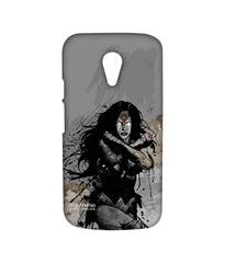 Batman Dawn of Justice Sketched Wonder Woman Sublime Case for Moto G2