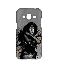Batman Dawn of Justice Sketched Wonder Woman Sublime Case for Samsung J3 (2016)