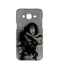 Batman Dawn of Justice Sketched Wonder Woman Sublime Case for Samsung On7 Pro
