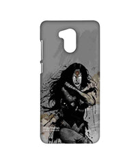 Batman Dawn of Justice Sketched Wonder Woman Sublime Case for Xiaomi Redmi 4 Prime