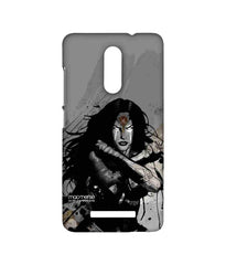 Batman Dawn of Justice Sketched Wonder Woman Sublime Case for Xiaomi Redmi Note 3