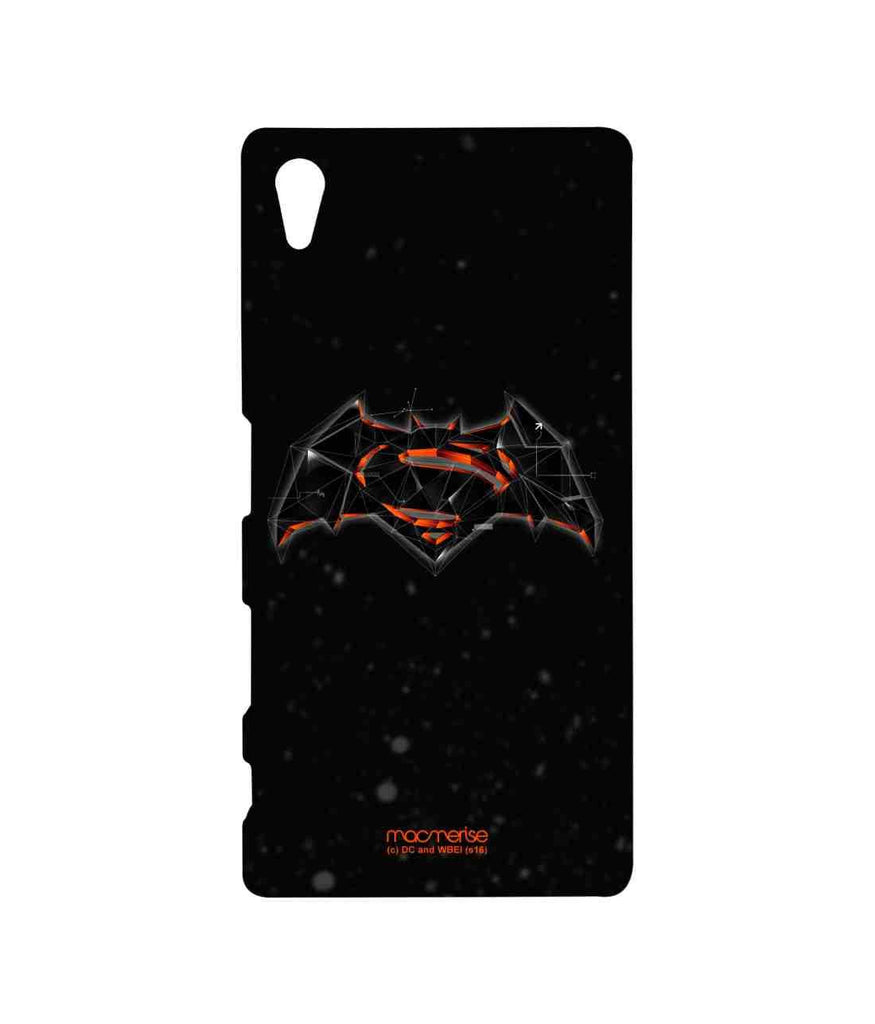Batman Dawn of Justice Batman Superman Bat Super Trace Sublime Case for Sony Xperia Z5