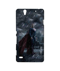 Batman Dawn of Justice Stand Tall Superman Sublime Case for Sony Xperia C4