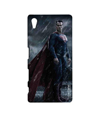 Batman Dawn of Justice Stand Tall Superman Sublime Case for Sony Xperia Z5
