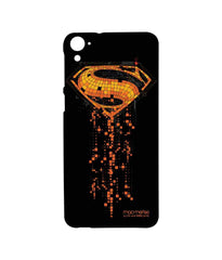 Batman Dawn of Justice Superman Mosaic Sublime Case for HTC Desire 826