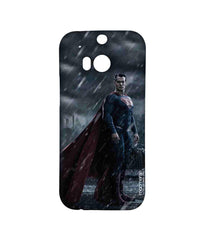 Batman Dawn of Justice Stand Tall Superman Sublime Case for HTC One M8